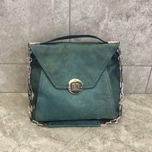 Kooba Delia Leather bag in aqua!!